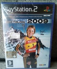 RTL biathlon 2009 PlayStation 2 pal italiano nuovo