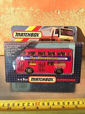 MATCHBOX SUPERKINGS K-15 BUS NUOVISSIMO NEW
