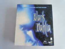 Black Dahlia PC Big Box Game 1997 on CD-Rom 8 Discs and Manual for Windows 95