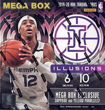 2019/20 Panini Illusions NBA Basketball card Mega Box BRAND NEW. ZION & JA RC?