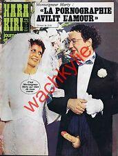 Hara Kiri n°170 du 11/1975 Coluche Mariage splendid Chazel Clavier Cabu