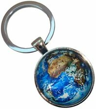 Bassin and Brown Unisex Earth Key Ring - Blue/Green