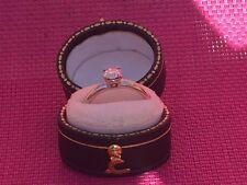 Solitaire diamond ring . sparkly beautiful diamond ring.