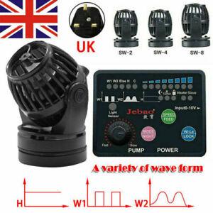 Jebao Marine Aquarium Wireless Wave Maker SW-2 SW-4 SW-8 Wave Maker Tank Pump UK