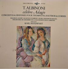 KARL RISTENPART/MAURICE ANDRÉ/SARROISE celebre adagio ALBINONI LP ERATO VG++