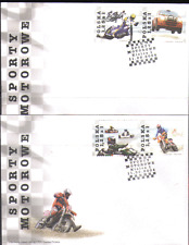 Poland 2004 MOTOR SPORTS/Cycles/Cars 4v on FDC n13572