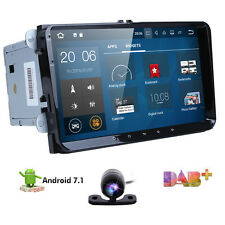"""Double 2Din 9"""" Android 7.1 Car Stereo GPS Navi Radio Player WiFi 4G OBD2 DAB+ US"""