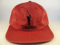 Tradition Golf Club Vintage Strapback Hat Cap American Needle