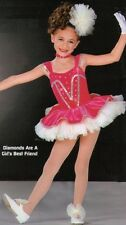 Diamonds Are A Girls Best Friend Dance Costume Ballet Clearance Child X-Small