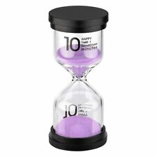 KSMA Sand Timer 10 Minute Hourglass Timer,Colorful Sandglass Timer for Kids,Clas