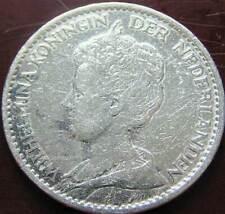 Nederland Zilveren Gulden 1912