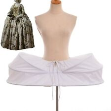 Blessume 18th Century Painner Rococo Hoopskirt Crinoline Baroque Gown Bustle