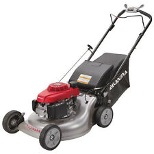 "Honda 21"" Commercial Gas Grass Lawn Mower Self Propelled 3-in-1 Easy Quick Quiet"