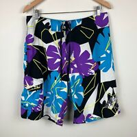 Billabong Mens Board Shorts Size 33 Swim Shorts Good Condition