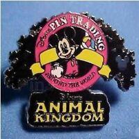 Disney Pin: WDW Cast Lanyard Series 3 Logo Collection (Animal Kingdom/Mickey)