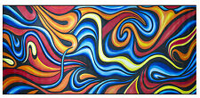 200cm huge size painting canvas ocean fire dream  abstract art Australia COA