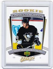 06-07 2006-07 UPPER DECK MVP KRISTOPHER LETANG ROOKIE 309 PITTSBURGH PENGUINS