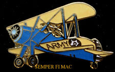 PT-17 STEARMAN LAPEL PIN US ARMY Biplane Trainer PILOT CREW SOLO WING GIFT WOW