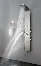 Duschpaneel geb. Edelstahl Duschsystem Regendusche Dusc