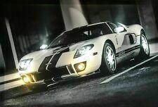 LED Bild Leinwand / Leuchtbild / Wandbild / US CARS / AUTO / SPORTWAGEN