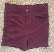 Vintage 80's Sand Knit Polyester Baseball Football Coaches Shorts Sz. M NWT