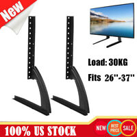 "Universal Tabletop TV Stand Pedestal Base Mount for 26""- 65"" SAMSUNG LG Hisense"