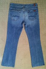7 For All Mankind Women's Bootcut Jeans Size 28 X 31