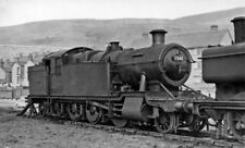PHOTO  GWR 2-8-2T 7248 AT SWANSEA EAST DOCK LOCOMOTIVE DEPOT