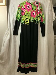 Mr. Dino Vintage Maxi Dress 10