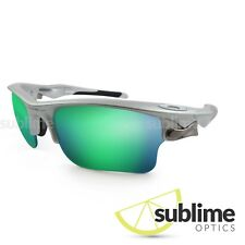 Metallic Emerald Green Polarized Replacement lenses for Oakley Fast Jacket XL