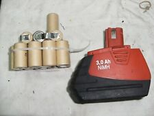 1 Bloc Batería Hilti sfb185 ni MH 3Ah  Bateria Batería Bateria Batería (15 Cels