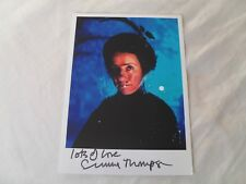 EMMA THOMPSON - autographed photo signed by Emma HARRY POTTER, NANNY McPHEE