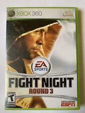 Xbox 360 Game Fight Night Round 3