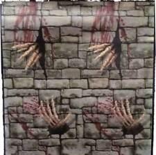 Halloween Skeletons in Prison Wall or Door Mural 42 x 72 inches