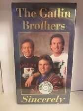 The Gatlin Brothers - Sincerely (CD Box Set, 1994) **BRAND NEW**