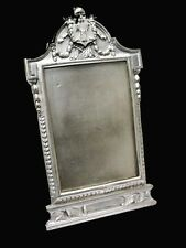 Rare antique Republique Francaise silver plated picture frame