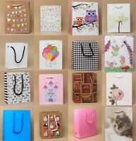 Pack of 6 Gift Bags Wedding Birthday Present Christmas Gift Bags Packaging