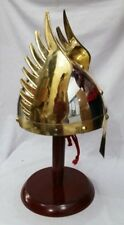 armore Knight Viking Helmet - Winged Norman King Helmet Fully Wearable Replica