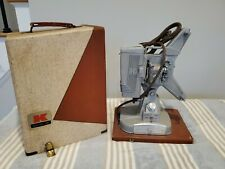 Vintage Excellent Condition Keystone 109S 8mm Film Projector wCase, Tested Works