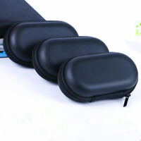 Portable Storage Bag Hard Hold Case For Earphone Headphone Earbuds Mp3 USB Cable