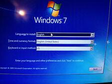 WINDOWS 7 32 & 64 bit Recovery ReInstall Repair Disc Home basic Premium & Pro