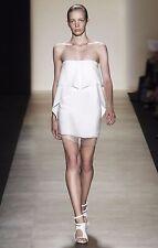 BCBG MAXAZRIA Runway Fei Fei Strapless White Dress NWOT Size 4 AU 8-10