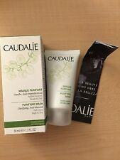 New CAUDALIE Paris PURIFYING MASK Anti-blemish Clarifying Full Sz 1.7oz/50ml BOX