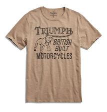 Lucky Brand - Mens XL - NWT - Triumph Motorcycle Bulldog Logo Cotton T-Shirt