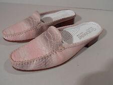 Gabriele G Beni Ladies Leather Sole Shoes Pink Snake Skin EU 35.5 UK 3 Italian