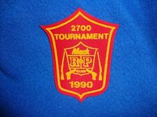 Vintage 1990 Mac Club Tournament Patch