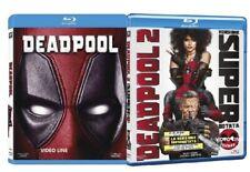 Blu Ray Deadpool 1-2 (2 Film Blu Ray) ......NUOVO