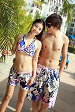 Haidie beach Pants Couples Lovers Men's Women's Beach Sexy Shorts Korean version