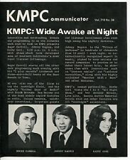 "1972 Radio - KMPC Newsletter: ""Don Drysdale Joins KMPC,"" Gary Owens + [So. CA]"