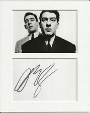 More details for david bailey kray twins genuine authentic autograph signature and photo aftal